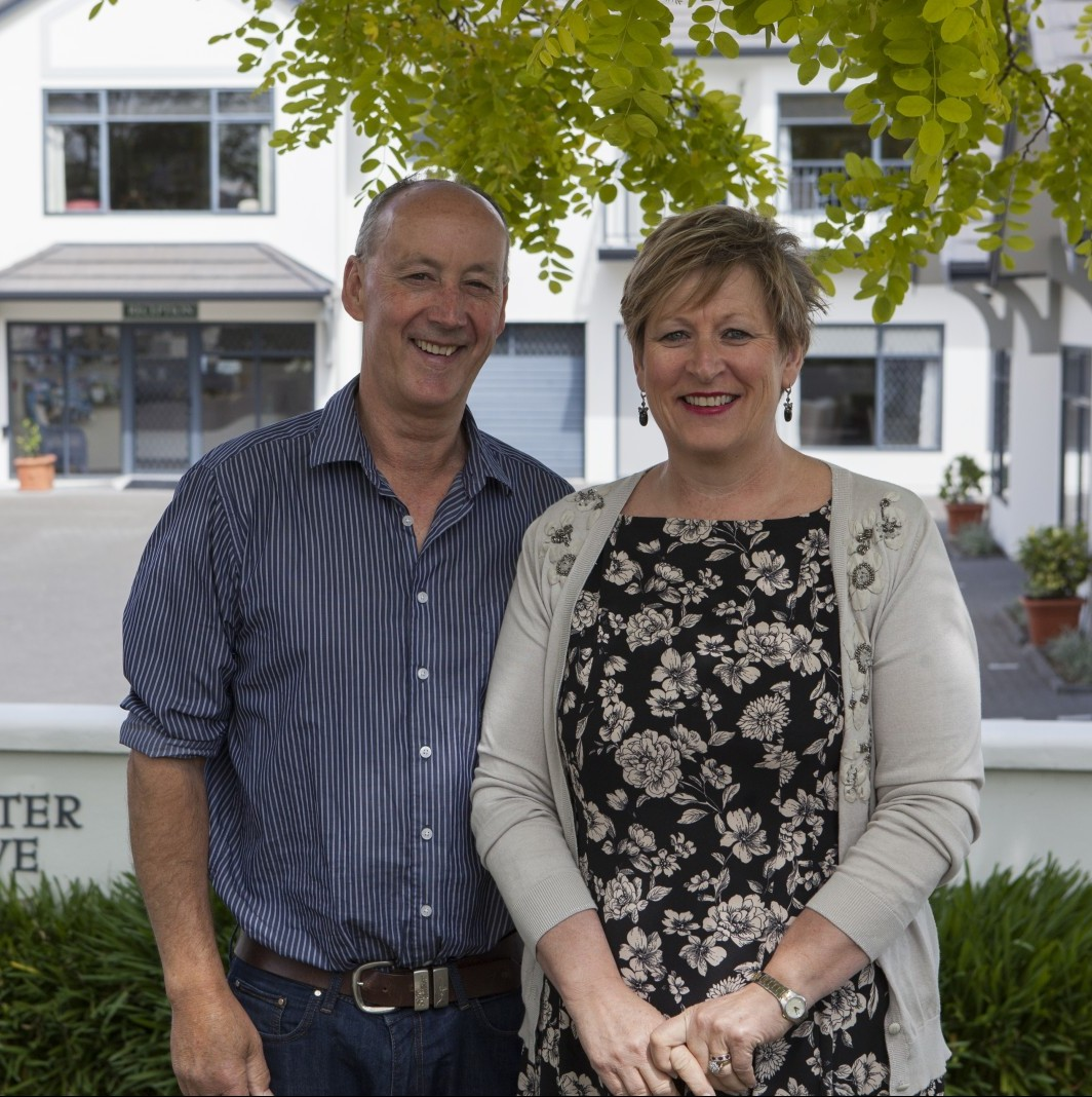 your hosts - Tom & Esther